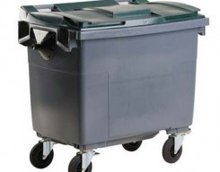 Rolcontainer glas