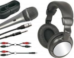 Hoofdtelefoons en microfoons