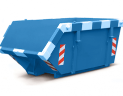 Houtafvalcontainer